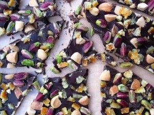 #cioccolato #frutta secca #pistacchi  Scopri tutte le #ricette: http://www.glutenfreetravelandliving.it/gffd-ricette/