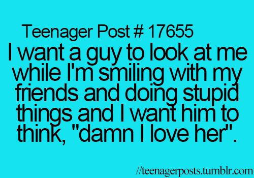 Teenager Posts- Sorry about the bad word :/