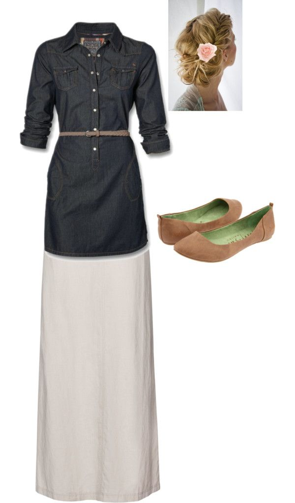 """""""Modest Outfit 27"""" by christianmodesty ❤ liked on Polyvore"""