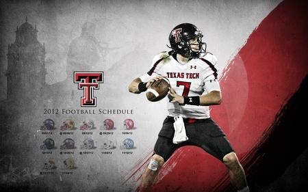 Seth Doege Texas Tech 2012 Schedule Wallpaper