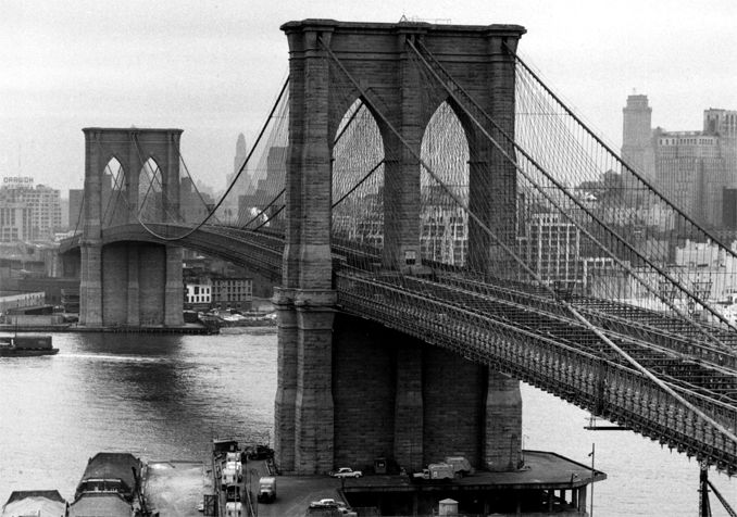 Puentes colgantes I Puente de Brooklyn