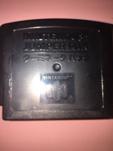 (1) Official Nintendo 64 N64 Jumper Pak Super Game Console System Memory Pack