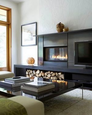 Stylish home: Fireplaces