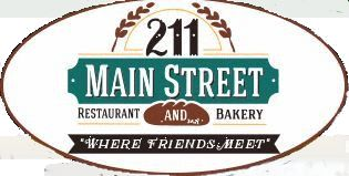 211 Main Street Restaurant - Bakery Menu