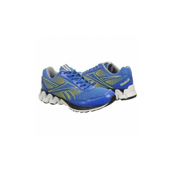 Reebok Men's Zigkick Ride Shoes (Blue/Grn/Grey/Blk)
