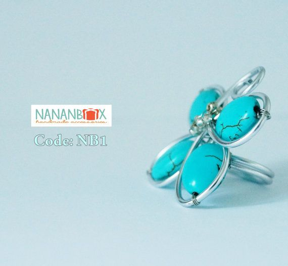 Butterfly ring  Code: NB1 by NananBox on Etsy