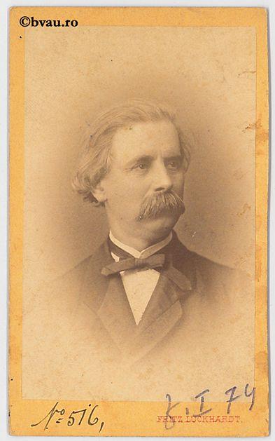 """N. Măcărescu : Profesor, 1856. Imagine din colecțiile Bibliotecii """"V.A. Urechia"""" Galați."""