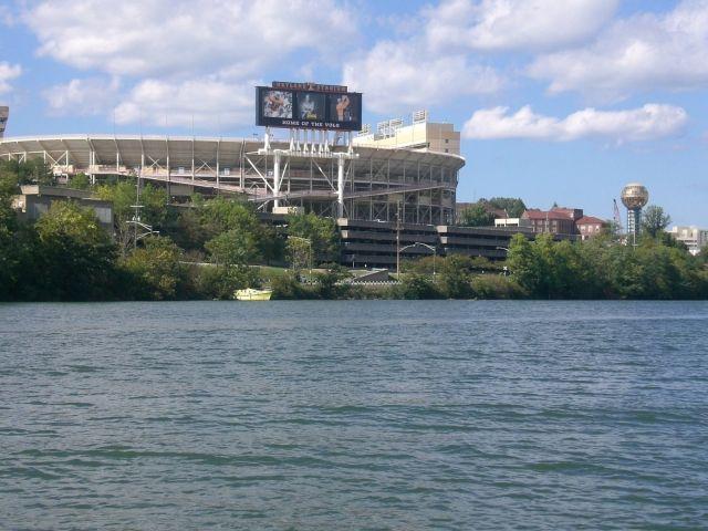 Neyland Stadium at the University of Tennessee