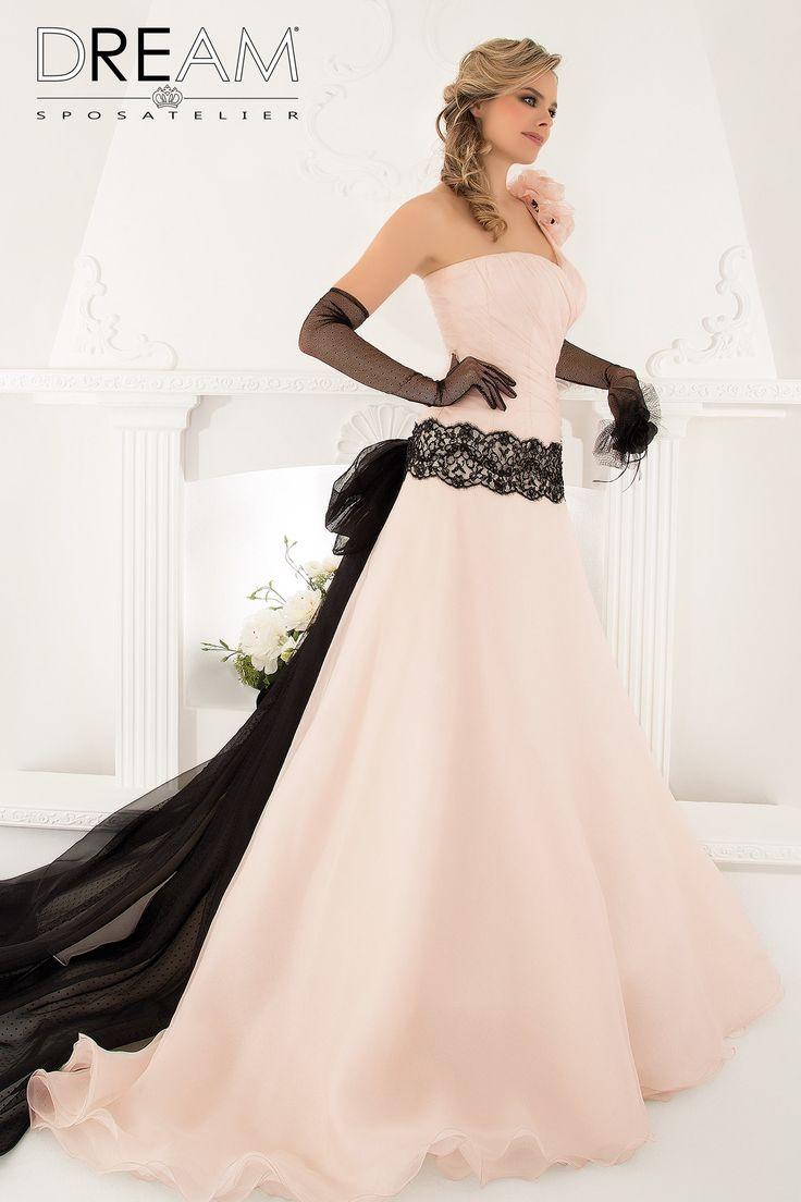 """DREAM SPOSA ATELIER Abito da sposa in organza rosa """"Mod. SUBLIME"""" Bridal dress in pink organza """"Mod. SUBLIME"""" #dreamsposa #dreamsposaatelier #abitidasposaroma #abitidasposa #bridaldresses #wedding #bridaldesign #hautecouture #fashion #moda #altamoda #abitidasposaesclusivi #modasposa #nonsolomoda #catwalk #paris #london #milano #newyork #vestitidasposa #vestitidasposaroma"""