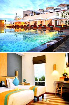 £44 -- Bali: Trendy Hotel w/Massage, Save over 40%