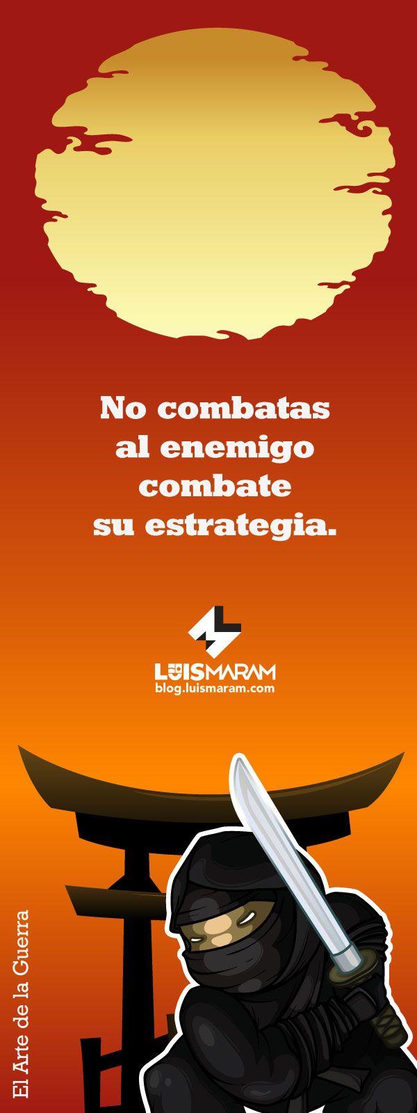 Frase de Marketing Estratégico salida de El Arte de la Guerra via @luismaram