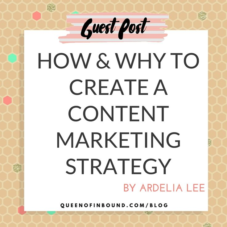 Does your business have a blog? Ardelia Lee stops by to tell you how a content marketing strategy can get you more sales.
