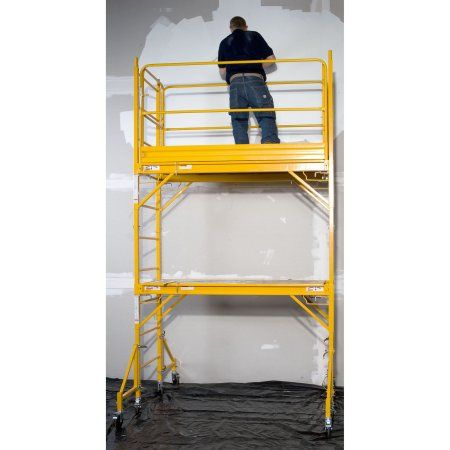 1k-------Pro-Series Two Story Rolling Scaffold Tower