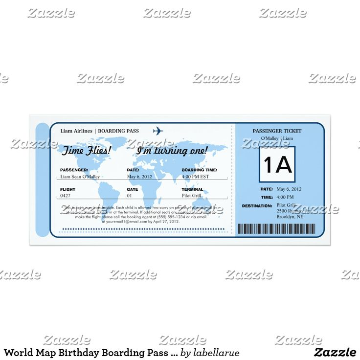 The  Best Boarding Pass Template Ideas On   Ticket