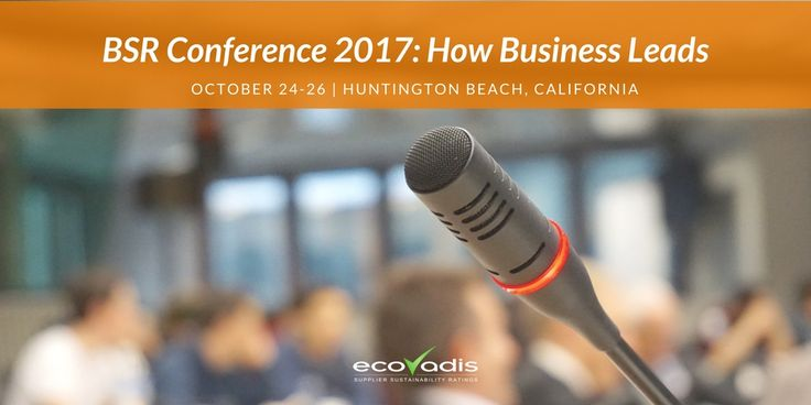 """BSR's """"How Business Leads"""": EcoVadis Joins Sustainable Supply Chain Tech Panel"""