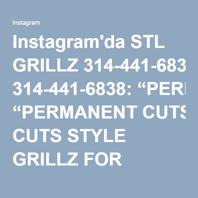 """Instagram'da STL GRILLZ 314-441-6838: """"PERMANENT CUTS STYLE GRILLZ FOR THOSE WHO LOVE THE SOUTHERN SWAG!!! 6 ON TOP SOLID YELLOW GOLD! GET IN WHERE YOU FIT IN!! ______________________________ #StLGRILLZZ """"HOME OF THE CUSTOM GRILLZ in the MIDWEST"""" ORDER TODAY Delmar Loop 314-441-6838 Email: sfi.stlouis@gmail.com PayPal accepted SHIPPING NATIONWIDE!!!!"""""""
