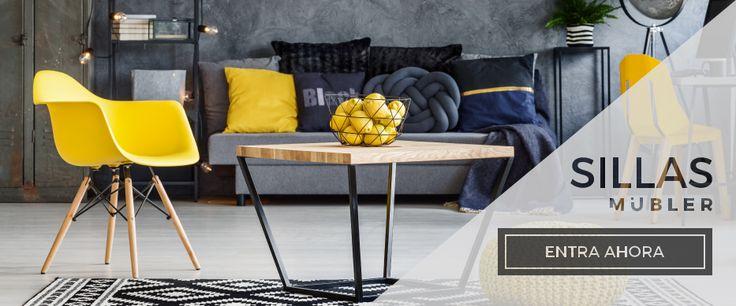 Entra Ahora y descubre nuestro amplio catálogo de sillas para que decores tu hogar. #Mubler #Sillas #Casa #Oficina #Furniture #Chair #HomeDesign