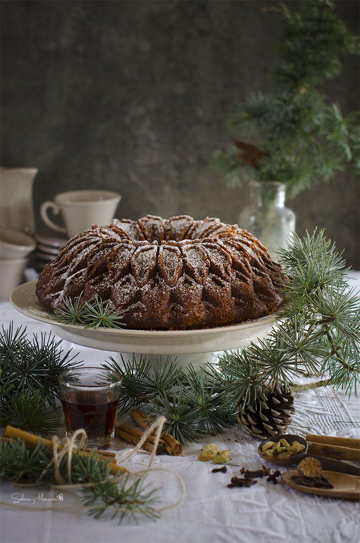 Sabores y Momentos | Gingerbread Bundt Cake {un clásico navideño} | http://saboresymomentos.es