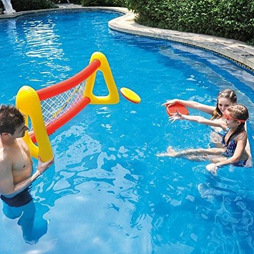 By PoolCentral 51 inch Red and Yellow Inflatable Swimming ...
