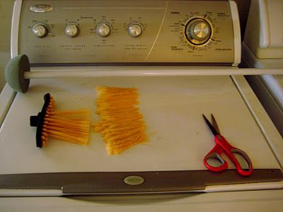 how to make a chimney sweep brush