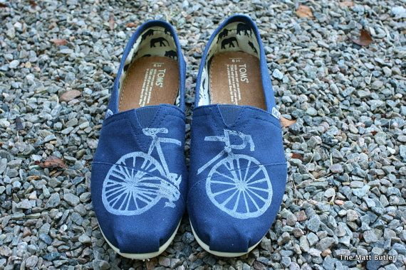 Customized TOMS shoes by themattbutler on Etsy