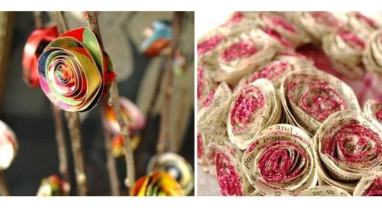 Quer aprender a fazer essas rosas lindas de papel da imagem acima? Quando você…