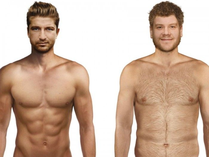 "What does the ""ideal"" man look like (according to men & women of Britain)?"