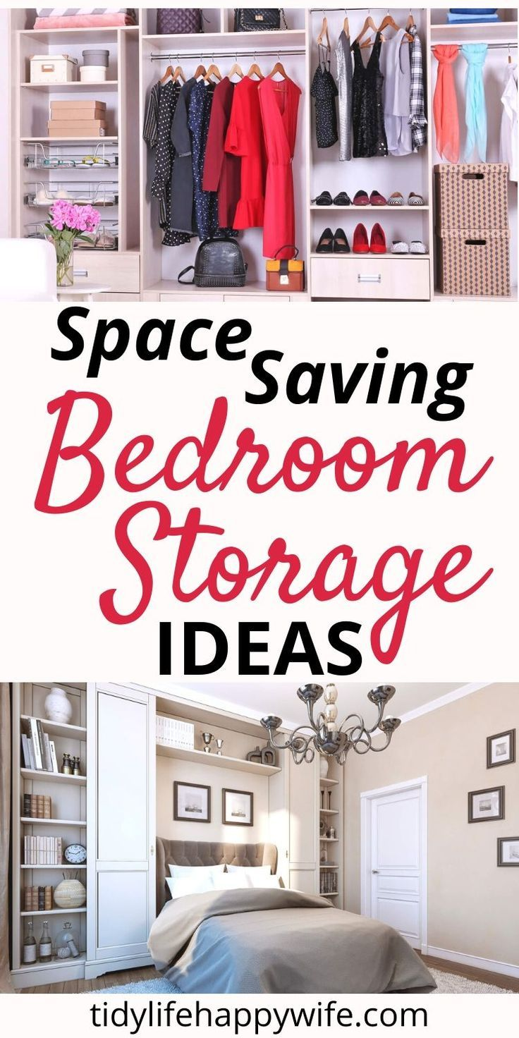 How To Make The Most Of Your Bedroom Storage In 2020 Space Saving Bedroom Bedroom Storage Small Room Bedroom