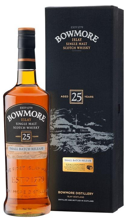 BOWMORE | 25 YEAR OLD.  The finest I ever tasted untill now...