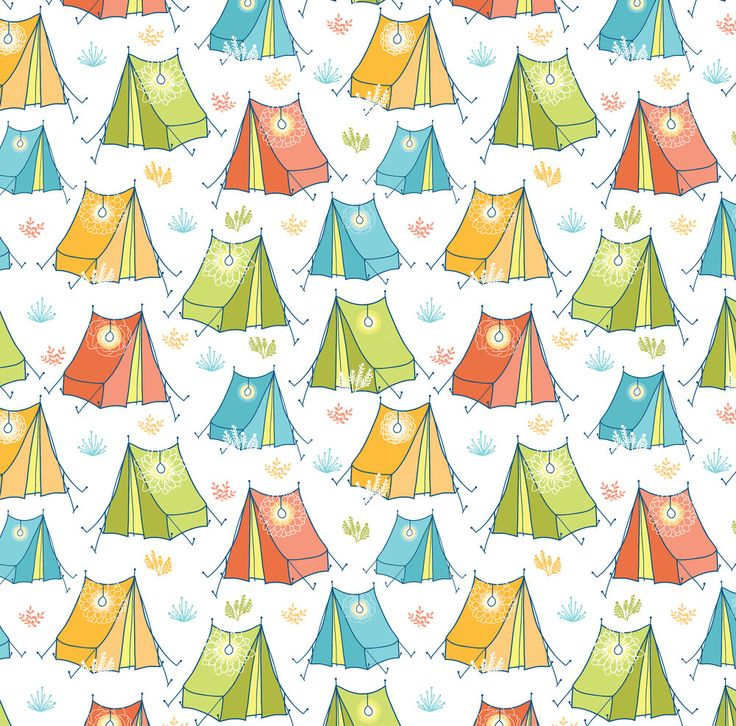 Kids Colorful Tent Fabric - Camping By Oksancia - Modern Nursery Decor Camping Cotton Fabric By The Yard With Spoonflower by Spoonflower on Etsy https://www.etsy.com/listing/495758716/kids-colorful-tent-fabric-camping-by