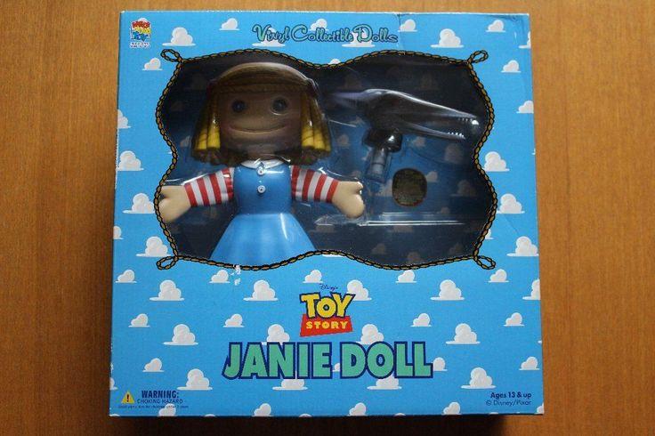 Medicom Toy VCD JANIE DOLL Toy Story Vinyl Collectible Dolls Disney Pixar Japan