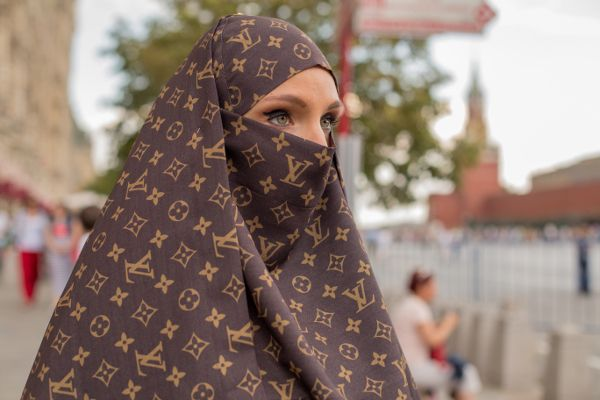 Fashion Burka Islamic Louis Vuitton Burkalv