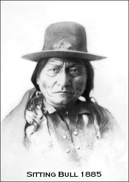 "Whilst touring with the Buffalo Bill Wild West Show, Sitting Bull said to Annie Oakley, ""I can't understand why the white man is so unmindful of their own poor. The white man knows how to make everything, but he does not know how to distribute it!"" Sitting Bull gave most of his earnings to a band of ragged, hungry boys who surrounded him wherever he went."