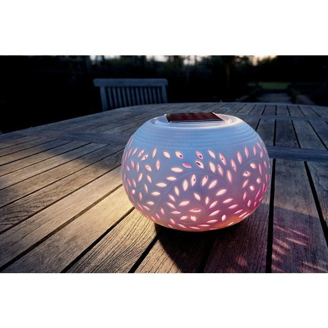 One of our favourites, the Cole & Bright Solar Filigree Table Light makes for the perfect outdoor centre piece.