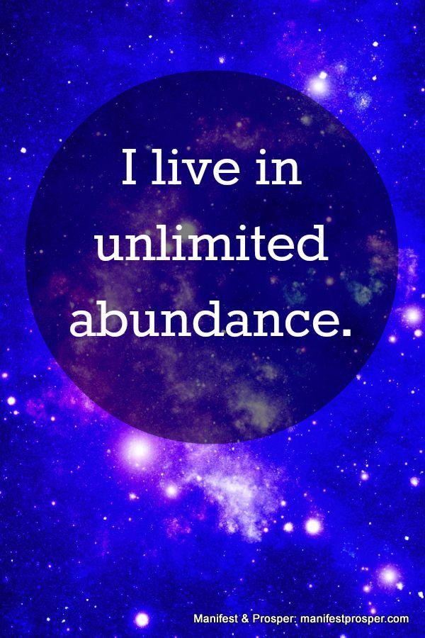 Manifest & Prosper: Unlimited Abundance