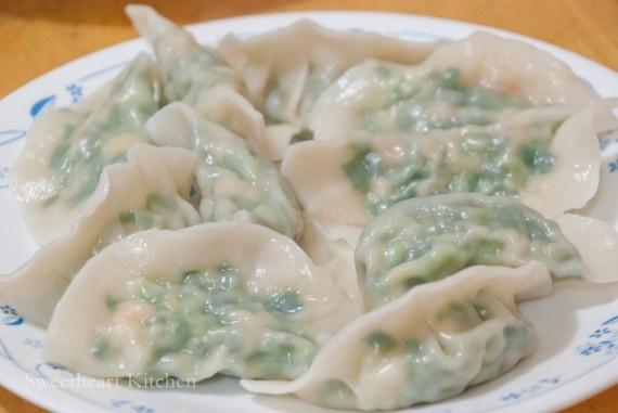 食譜 韭菜豬肉水餃 Pork and Chive Dumplings Recipe