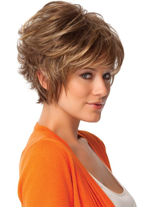 Need back of head cut like this. Short Hair Styles: Layered Hairstyles ...