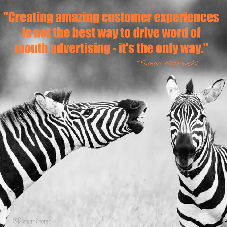 A word on generating word of mouth advertising