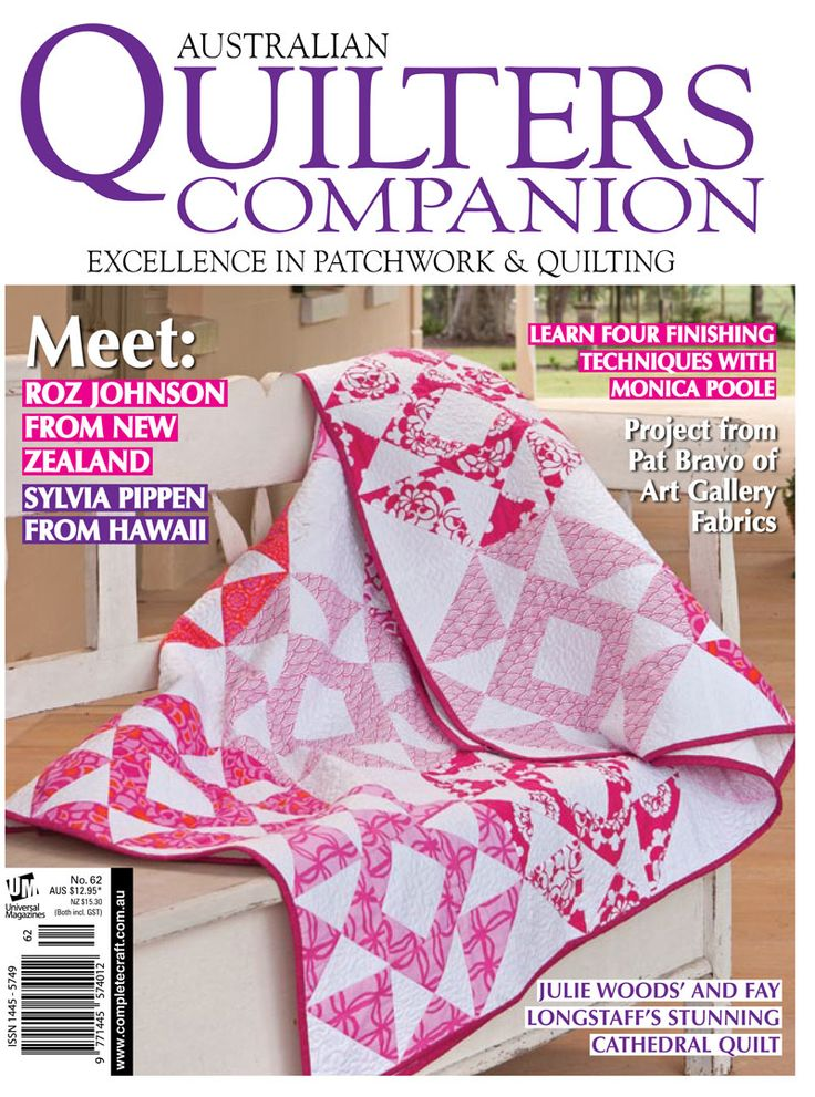Quilters Companion #62 cover