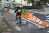 New York City Jersey Barriers Painted
