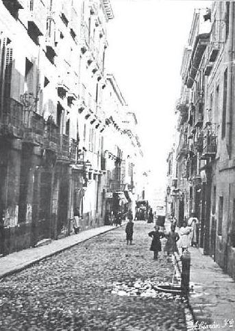 1905. Antes de la Gran Vía. La calle de San Miguel.   Flickr: Intercambio de fotos