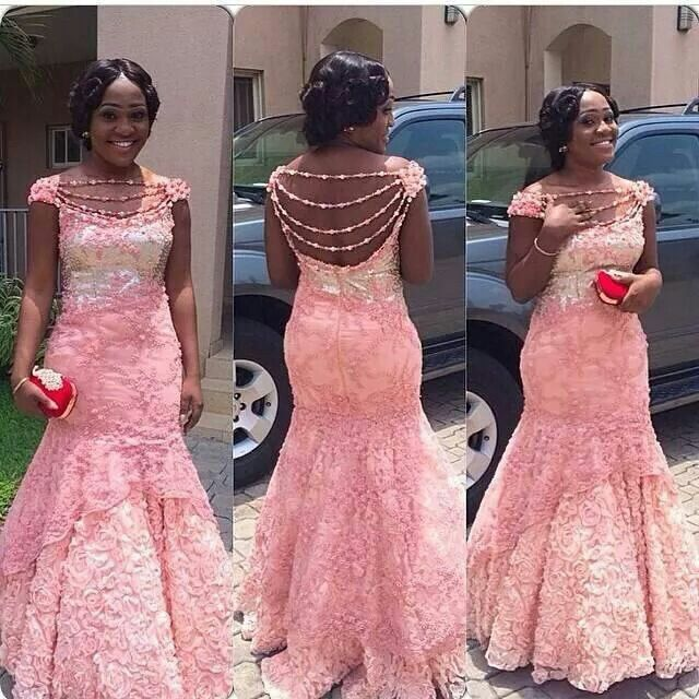 Pearly Lace Latest African Fashion Prints Styles Clothing Nigerian Style Ghanaian Af Naija Trends In