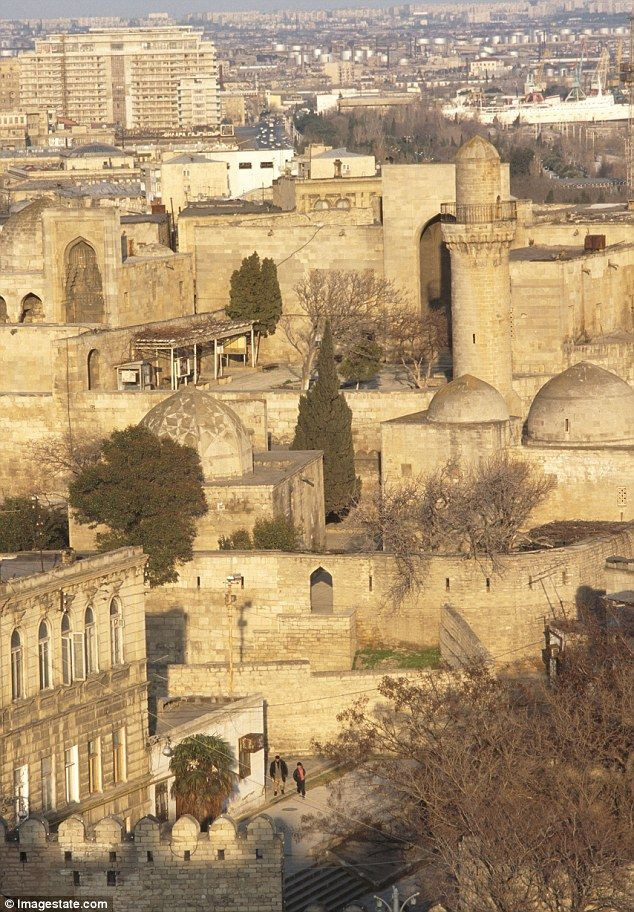 Baku's old walled city recalls the days when it sat on the Silk Road, Azerbaijan