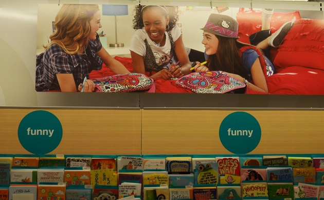 Display Design - Carlton Cards - Very Funny Birthday - Instore Display | Middleton Group Inc.