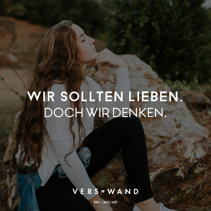Wir sollten lieben. Doch wir denken. – Rin – VISUAL STATEMENTS