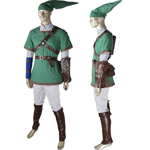 legend of zelda link tunic cosplay costume superhero suit outfit halloween costume