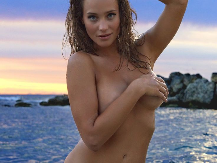 Hannah Ferguson photographed in St. Lucia by WalterIoossJr. for SI Swimsuit 2014.