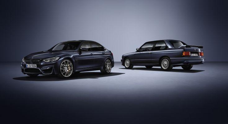 """Zur Feier des 30-jährigen Geburtstags der automobilen Ikone legt BMW M in diesem Sommer die exklusive, weltweit auf 500 Exemplare limitierte Sonderedition BMW M3 """"30 Jahre M3"""" auf. Mit der Markteinführung der ersten Generation des BMW M3 im Jahr 1986.."""