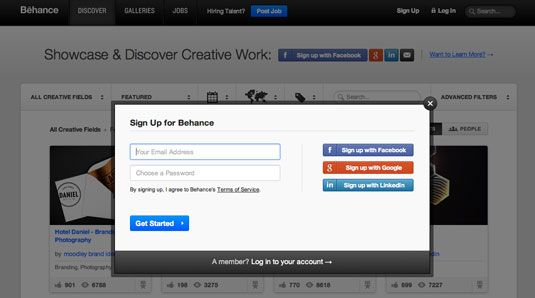How to create a free portfolio website with Behance | Portfolios | Creative Bloq