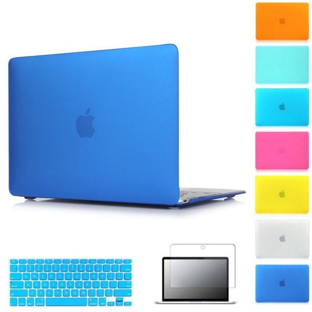 Hard Matte Case For Apple macbook Air Pro Retina 11 12 13 15 laptop bag For Mac book 11.6 13.3 15.4 inch laptop case cover //Price: $9.87//     #shop